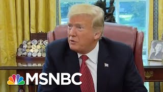 President Donald Trump Flooding The Air Waves With GOP Messaging | Velshi & Ruhle | MSNBC