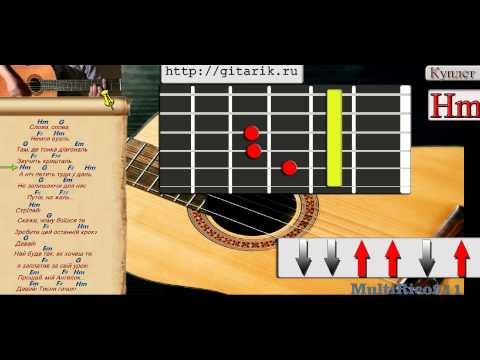 Как играть на гитаре Океан Ельзи - Стріляй