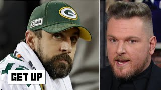 Pat McAfee is confident Aaron Rodgers will bounce back with the Packers | Get Up
