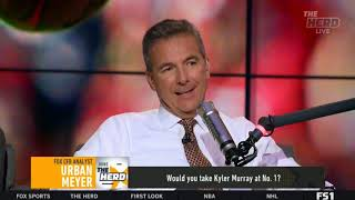 Urban Meyer live to tell Colin whether Kyler Murray will succeed as an NFL quarterback | THE HERD