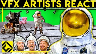 VFX Artists React to the Moon Landing