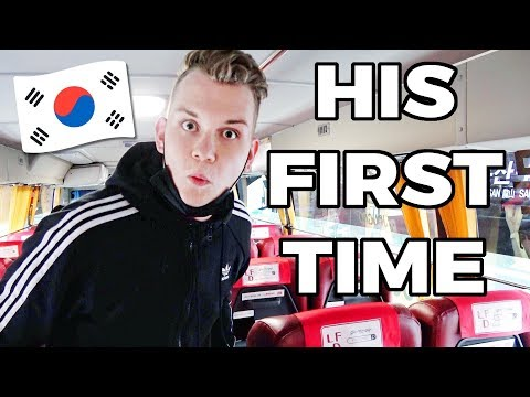 My Brother Arrives In Korea For The First Time
