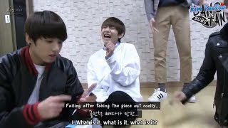 When V (BTS) play games