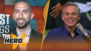 Nick Wright on Browns' Hard Knocks debut, Underrated Cowboys and QB rankings   NFL   THE HERD
