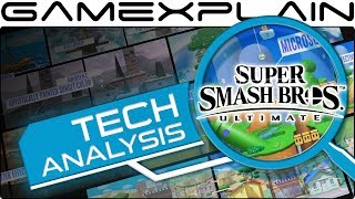 An Early Tech Analysis of Super Smash Bros. Ultimate's Stages
