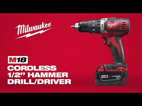 Milwaukee M18BPD-402C 18v Combi Drill 2 x 4.0Ah Batteries Charger + Case