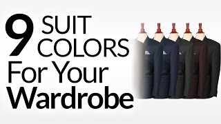 9 Suit Colors A Man Should Consider | Men's Suits & Color | Suit Colors To Buy In Priority Order