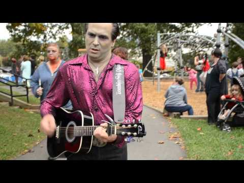 Zombie Neil Diamond Singing Sweet Caroline