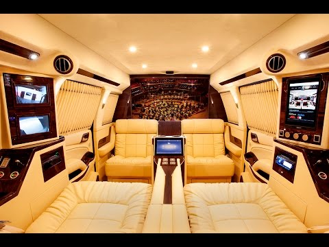 Interior video of Lexani Motorcars' Suburban State Edition (Extended)
