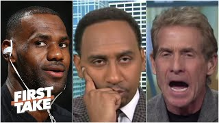 [2015] Stephen A. and Skip argue whether Michael Jordan could still beat LeBron 1-on-1 | First Take