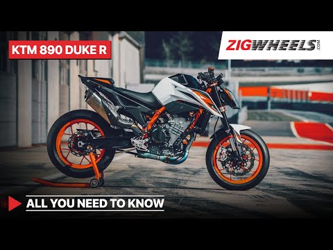 KTM 890 Duke R: All You Need To Know | Price, Features, Engine Details & More