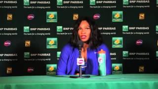 Serena Williams R16 Press Conference