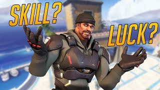 Overwatch Funny & Epic Moments - SKILL OR LUCK? - Highlights Montage 172