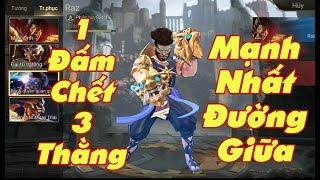 [Gcaothu] Cú đầm chết chóc raz quá mạnh phải chơi lại ngay - Một đẩy chết 3 thằng