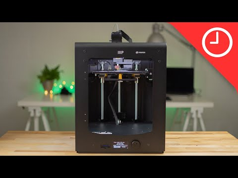 video Monoprice Maker Ultimate 3D Printer