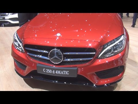@MercedesBenz C 250 d #4MATIC Break Swiss Star (2017) Exterior and Interior in 3D