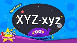"Kids vocabulary compilation ver.2 - Words Cards starting with XYZ, xyz - Repeat after ""Ting (sound)"""