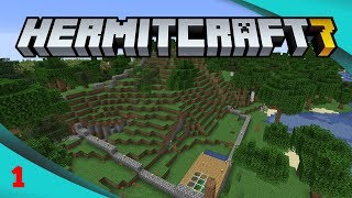First Foundations - Hermitcraft 7 Ep1