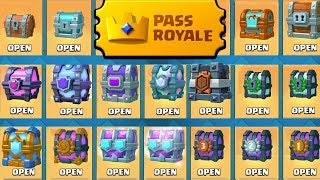 Opening EVERY chest that EXIST in Clash Royale!