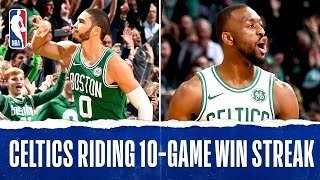 Best Of The Celtics 10 Game Win Streak