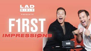Chris Pratt vs Will Arnett Play First Impressions