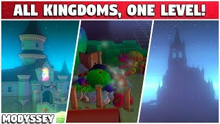 What if we put ALL KINGDOMS into ONE LEVEL?! | Super Mario Modyssey #20