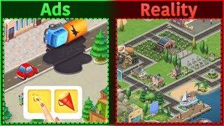 Mobile Game Ads Vs. Reality 6