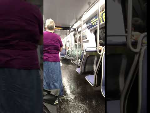 WILD video shows flooding INSIDE Metro train during DC area flooding