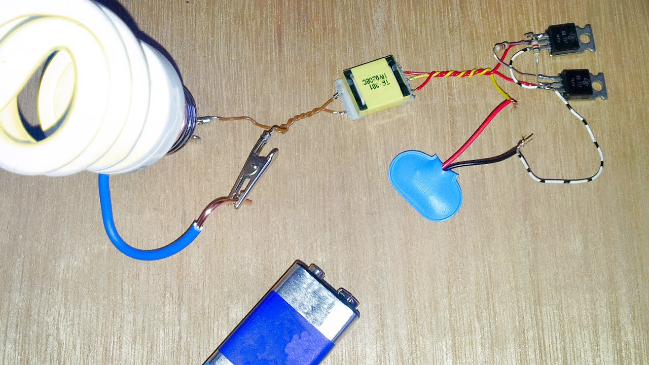 Run A 220 Volt Light Bulb On A 9 Volt Battery Win Or