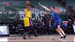 LeBron James Torches Bucks From 3-Point Land