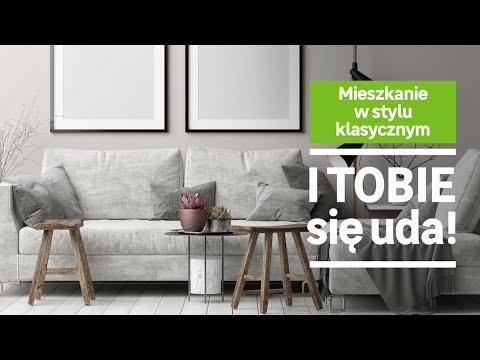 Mieszkanie w stylu klasycznym (wideo)