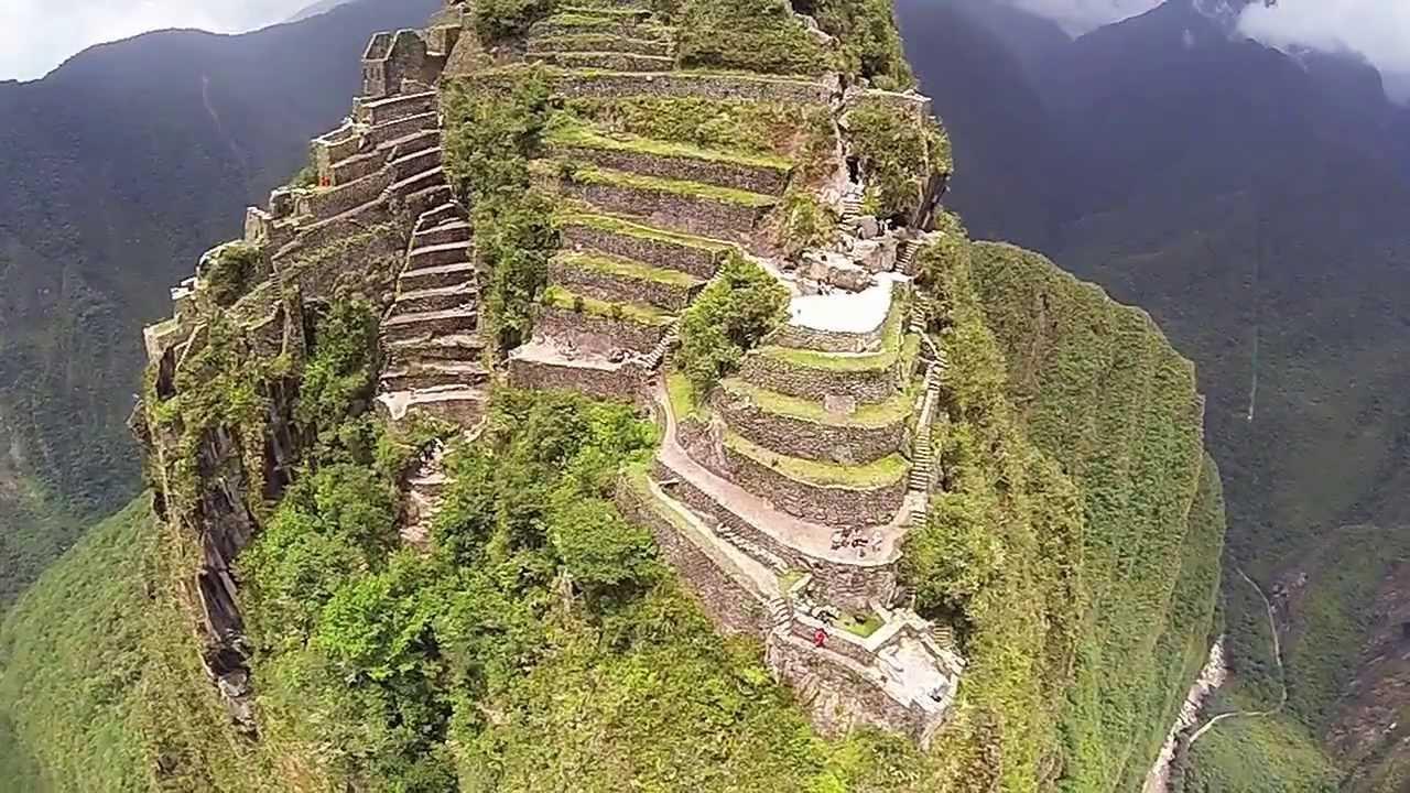 Machu Picchu from a DJI Phantom w/ GoPro Hero3 HD
