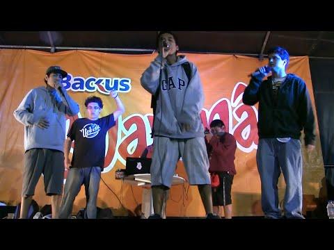 INDIOS AMERICANOS en vivo Festival Urbano La Molina 2014