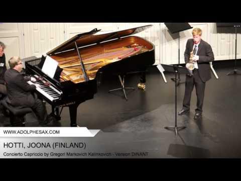 Dinant 2014 - Hotti, Joona - Concerto Capriccio by Gregori Markovich Kalinkovich
