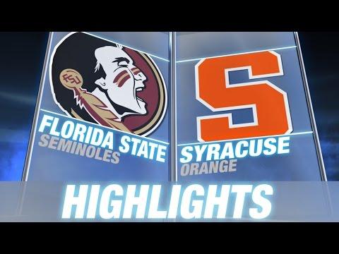 Florida State vs Syracuse | 2014 ACC Football Highlights