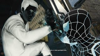Mr.Negative Boss Fight #1 w/NEGATIVE SUIT - SPIDER-MAN PS4