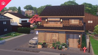 Modern Rustic Machiya | The Sims 4: Snowy Escape