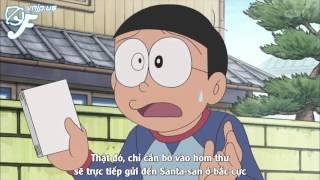 Doraemon Ep 195 Ông già Noel Nobita trong đêm giáng sinh