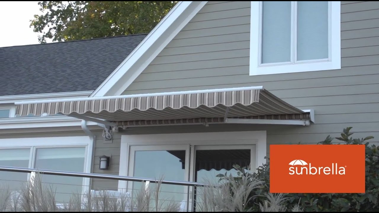 Retractable Awning - Fabric Replacement - YouTube