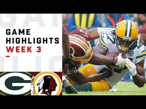 Packers vs Redskins