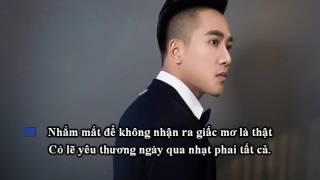 Lá Vàng Và Gió - Châu Khải Phong [Karaoke Beat]