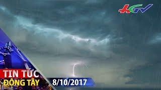 Áp thấp nhiệt đới tiến nhanh về biển Đông | TIN TỨC ĐÔNG TÂY - 8/10/2017