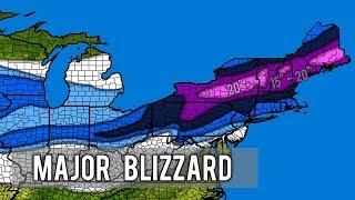 Major Winter Storm Harper 2nd Forecast