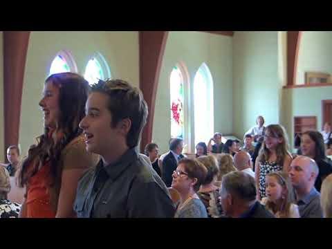 Students flashmob a Wedding Ceremony