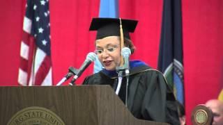 'SP 2013 Graduation Ceremony - Address by Regent Mildred Edwards
