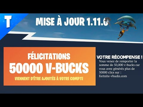 EPIC GAMES DONNE DES V-BUCKS GRATUIT ? FORTNITE Battle ...