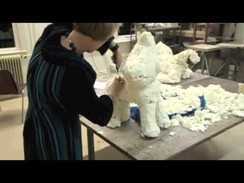 how to make a paper mache sculpture