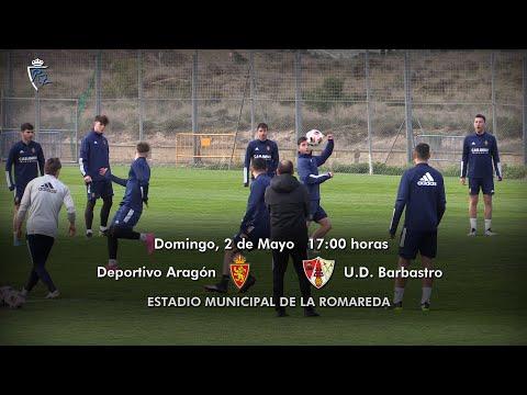 LA PREVIA / Dep. Aragón - Sommos UD Barbastro / J 5 / 3ª División Grupo Play Off / Fuente YouTube Deportivo Aragón