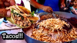 TACO!!! Authentic Mexican Street Food - Nothing Like Taco Bell - Real Mexican Food!!!