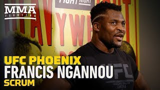 UFC Phoenix: Francis Ngannou Responds to Critics Who Question His Fighter's Mentality - MMA Fighting